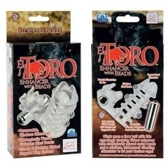 El Toro Enhancer With Beads - Anillo Vibrador