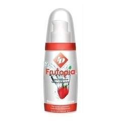 ID Frutopia Natural Flavor Strawberry 3.4 oz - Lubricante Sabor Fresa