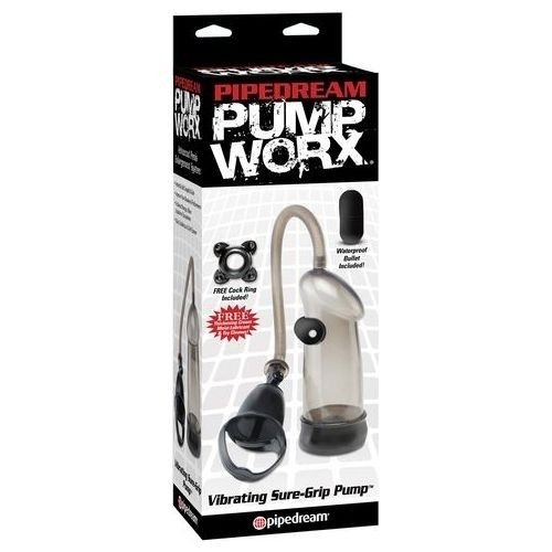 Pump Worx Vibrating Sure Grip - Bomba Para Pene