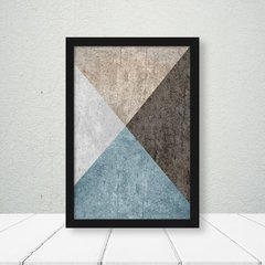 Kit de quadros Elegance Nude Blue - Quadros decorativos | Pirilampo Decor