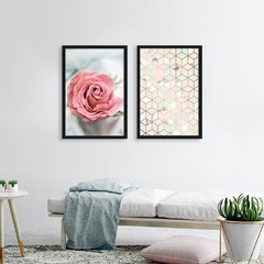 Kit de quadros Geometric Floral na internet