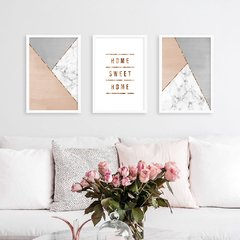 Kit de quadros Home Sweet Home II