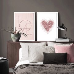 Kit de Quadros Love Duo II - comprar online
