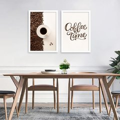 Kit de quadros Coffee Time - comprar online