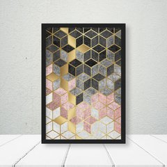Kit de quadros Elegance Rose Gold - Quadros decorativos | Pirilampo Decor