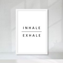 Kit de Quadros Inhale Exhale na internet