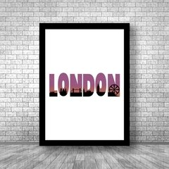 Quadro London na internet