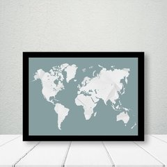 Kit de quadros Geometric Map - Quadros decorativos | Pirilampo Decor