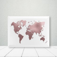 Kit de quadros Travel Map - Quadros decorativos | Pirilampo Decor