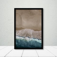 Kit de quadros Beach Blue - Quadros decorativos | Pirilampo Decor