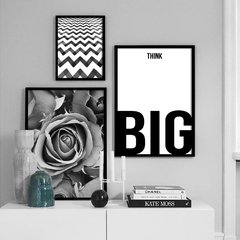 Kit de quadros Think Big
