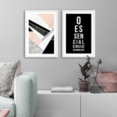Kit de quadros Geometric Essencial - comprar online