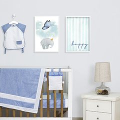 Kit de quadros Elefante Happy I
