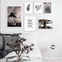 Kit de quadros P&B I - Quadros decorativos | Pirilampo Decor
