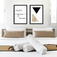 Kit de Quadros Amor Gera Amor - Quadros decorativos | Pirilampo Decor