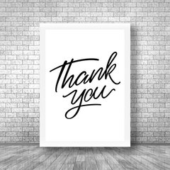 Quadro Thank You - Quadros decorativos | Pirilampo Decor