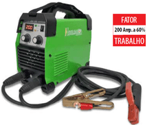 Inversora ARC 200 new + Arc Force + TIG c/ lift arc 110/127/220v - Hylong