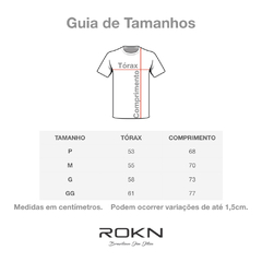 Image of T-Shirt ROKN Reative White Swave