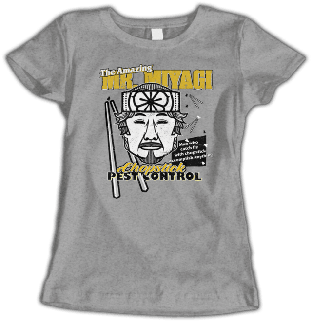 Camiseta Feminina Karate Kid