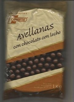 AVELLANAS CON CHOCOLATE X 100 Grs ARGENFRUT