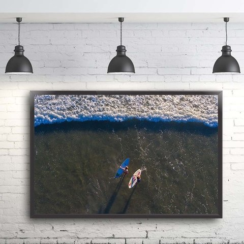 Quadro Decorativo Surfista