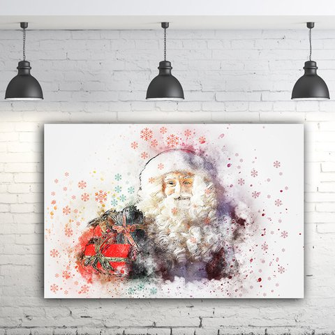 Quadro Decorativo Papai Noel
