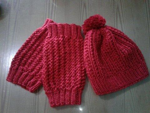 2003cf877b4bd Boina de tricô adulto · Boina de tricô adulto - comprar online ...