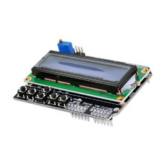 Shield Display LCD Shield 1602 Azul + Botones - comprar online