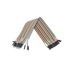 Cable 40pin DuPont Macho-Hembra 30cm