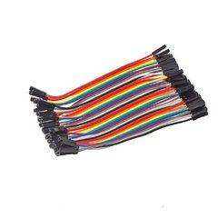 Cable 40pin DuPont Hembra-Hembra 10cm - comprar online
