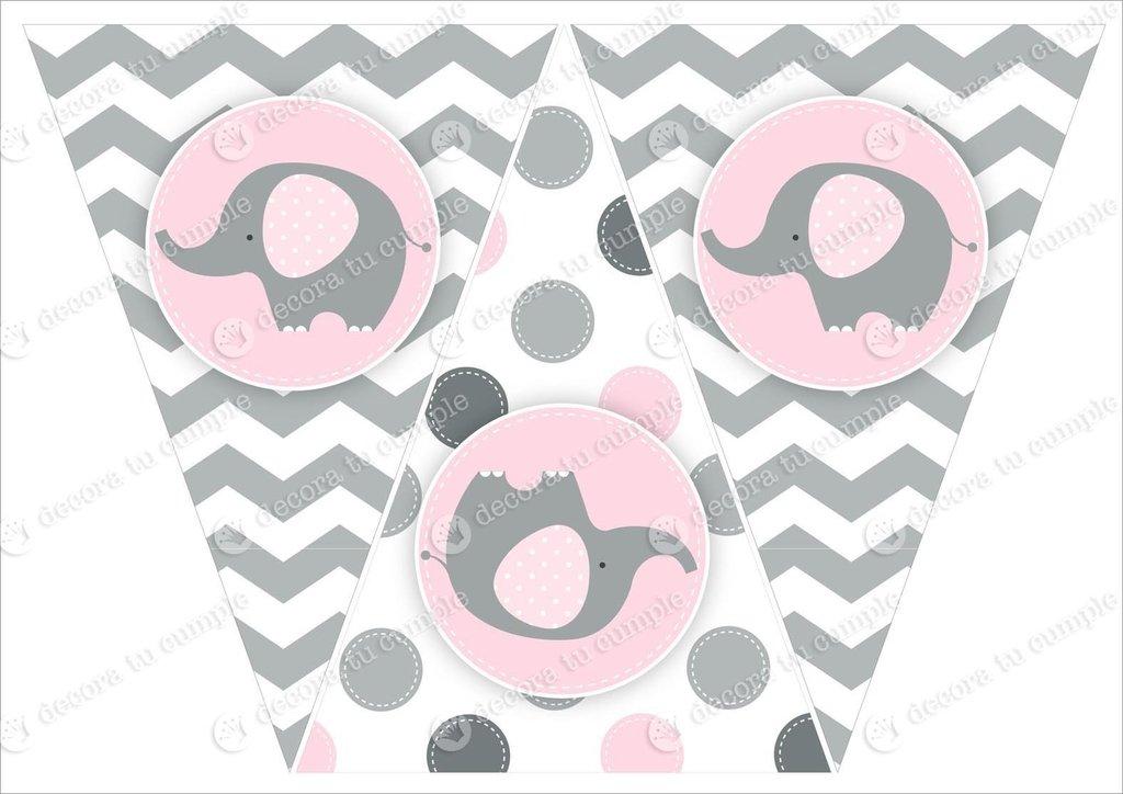 Elefante Para Baby Shower Para Imprimir