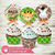 Kit imprimible Animales animalitos de la Jungla selva Tropical personalizado cumpleaños jungle party birthday