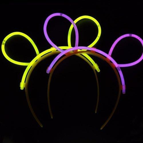 Vincha Orejas De Neon Quimicas Cotillon Luminoso
