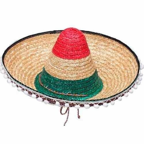 51bcfc56e Gorro Mexicano Con Borlas Cotillón Disfraz Halloween Fdd