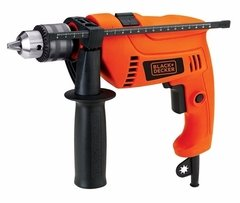 Taladro Percutor Eléctrico Black+Decker HD555 13mm 550w