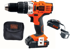 Taladro Percutor Inalambrico 14.4V Black + Decker HP14