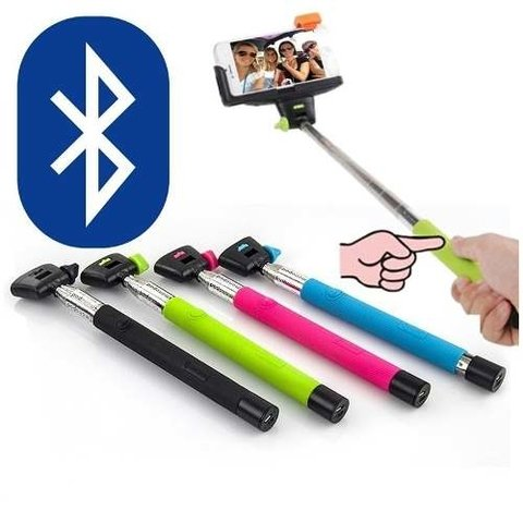 Baston Selfie Netmak Original Bluetooth Iphone Samsung Gtia - ONCELULAR