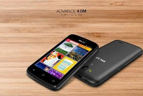 Blu Advance 4,0 Liberado 4 Quad 1,2ghz 512mb 3,2 + 2mp Gtia - ONCELULAR