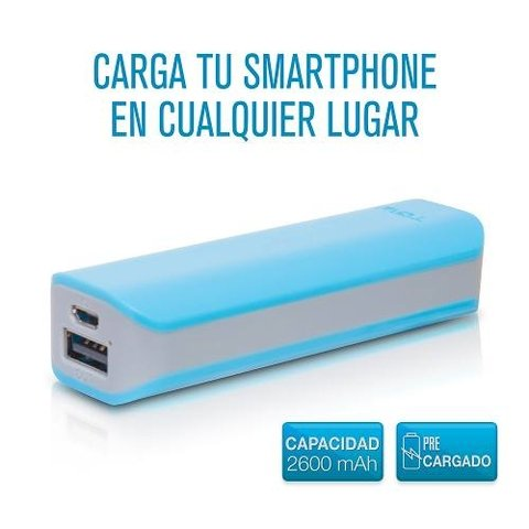 Cargador Portatil Tgw 2600 Mah+pared 2usb+cable Usb Lighting en internet