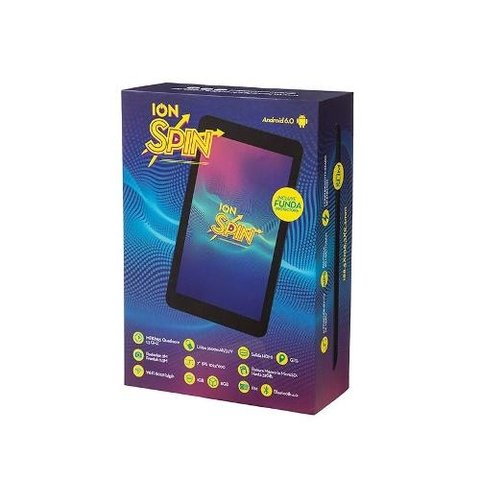 Tablet 7 Pulgadas Quadcore Hdmi Android 6 Ion Spin Ips Gtia en internet