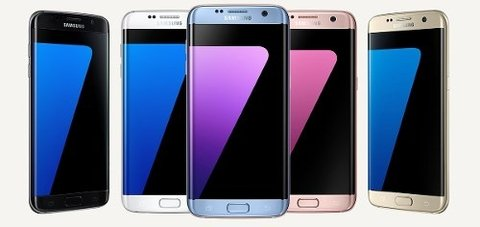 Display Y Touch Pantalla Samsung S7 Edge G935 - Original en internet
