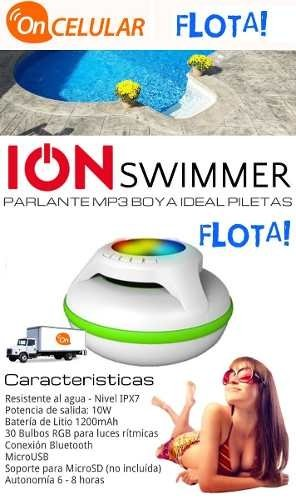 Parlante Portatil Bluetooth Sumergible Ion-swimmer Flotante en internet