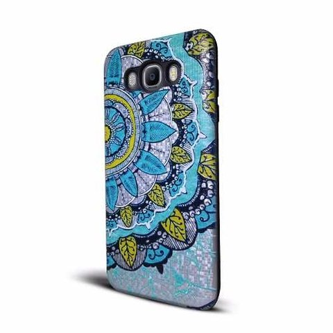 Funda Tpu Soft Reforzada Para Iphone 8 Plus Mandala + Vidrio