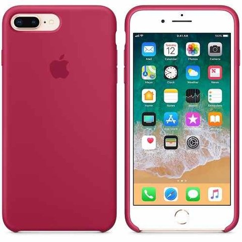 Funda Original Silicone Case Iphone 8 Plus 7 Plus
