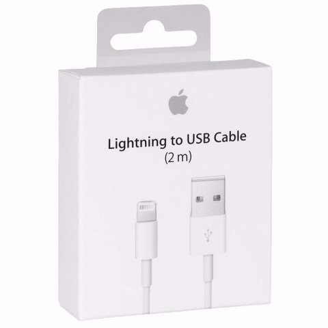 Cable Usb A Lightning De 2 Metros Iphone 5 6 7 Original Garantia