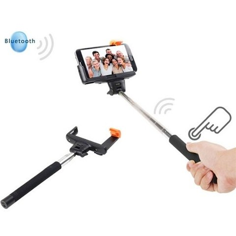 Baston Selfie Netmak Original Bluetooth Iphone Samsung Gtia