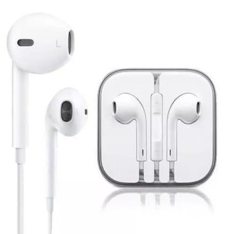 Auriculares Earpods 3.5mm Para Iphone Ipod Ipad Celulares
