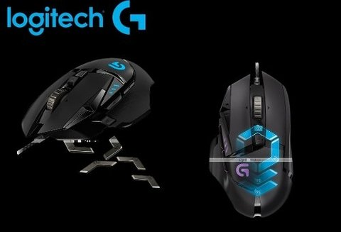 Mouse Logitech Gaming G502 Proteus Spectrum 12k Dpi Gamer