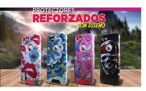 Funda Tpu Soft Reforzada Para Iphone 7 Plus Calavera - ONCELULAR