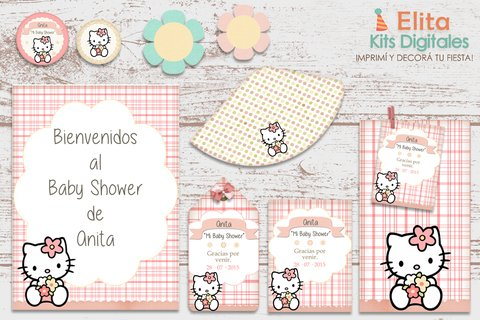 Kit Imprimible Hello Kitty Vintage - comprar online